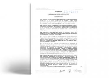 Extensión de plazo para renovación de concesiones de zonas de Playa y Bahía correspondientes al mes de mayo